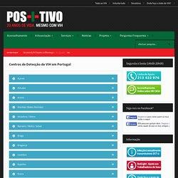 Centros de Detecção do VIH em Portugal