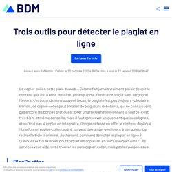 Trois outils pour détecter le plagiat en ligne
