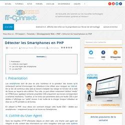Détecter les Smartphones en PHP