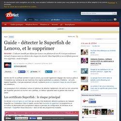Guide - détecter le Superfish de Lenovo, et le supprimer