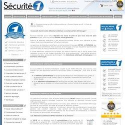 Choix du détecteur extérieur - SECURITE 1
