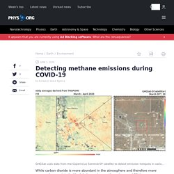 PHYS_ORG 01/06/20 Detecting methane emissions during COVID-19