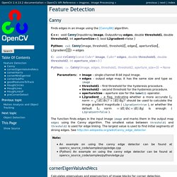 Feature Detection — OpenCV 2.4.13.2 documentation