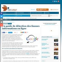 Un guide de détection des fausses informations en ligne
