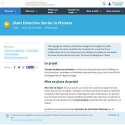 Short Detective Stories in Pictures - eTwinning.fr