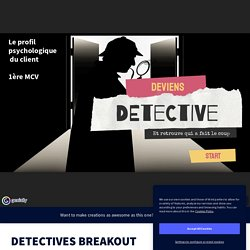 DETECTIVES BREAKOUT by florine.nowak on Genially