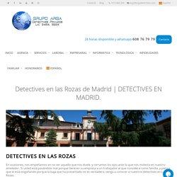 ▷TARIFAS detectives en Las rozas.