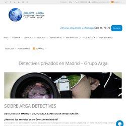 Detectives Privados Madrid ▷Detectives de confianza en Madrid.