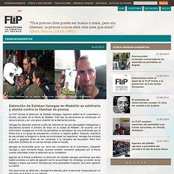 Detención de Esteban Vanegas en Medellín es arbitraria y atenta contra la libertad de prensa