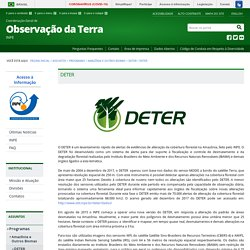 DETER — Coordenação-Geral de Observação da Terra