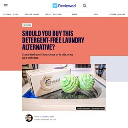 Crystal Wash review: Does this detergent alternative actually work? - Reviewed Laundry