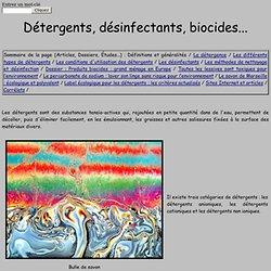 Détergents