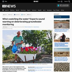Who's watching the water? Experts sound warning on deteriorating groundwater monitoring