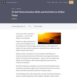 21 Self-Determination Skills and Activities to Utilize Today
