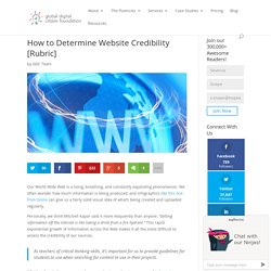 How to Determine Website Credibility