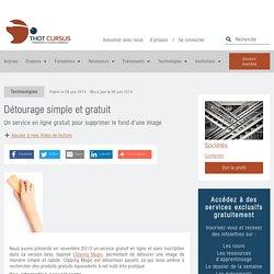 Détourage simple et gratuit - Thot Cursus