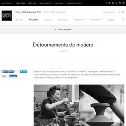 Détournements de matière – Actualités – MAISON&OBJET PARIS