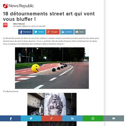 18 détournements street art qui vont vous bluffer !
