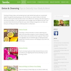 Detox & Cleansing Tips