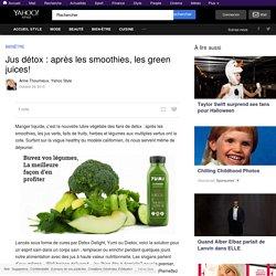 Jus détox : après les smoothies, les green juices!