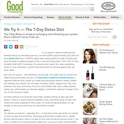 7 Day Detox - Weight Loss Diet Plan - Detox Diets - The Daily Green