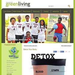 Detox Your Body | Green Living