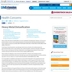 Heavy Metal Detoxification - Toxicity, Lead, Toxic