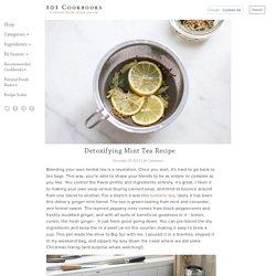Detoxifying Mint Tea Recipe