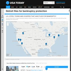 Detroit files for bankruptcy protection