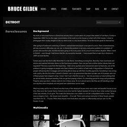 Detroit - Bruce Gilden