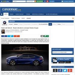 Salon de Detroit : Buick dévoile le concept Avista Coupe
