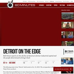 Detroit on the edge