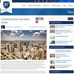 Detroit: Real Estate and Market Trends