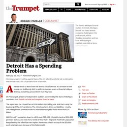 Detroit Has a Spending Problem