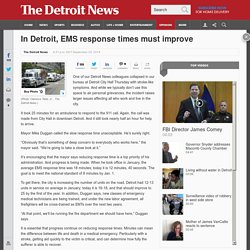 Detroit must improve 911 response times