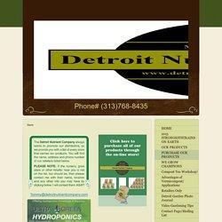 Detroit Nutrient Company - Store