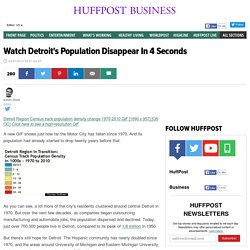 Watch Detroit's Population Disappear In 4 Seconds