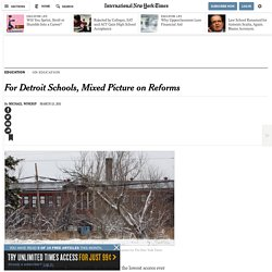 For Detroit Schools, Hope for the Hopeless