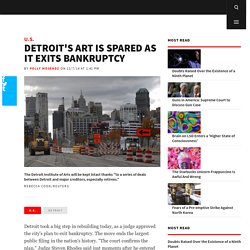 Detroit's Art Is Spared as It Exits Bankruptcy