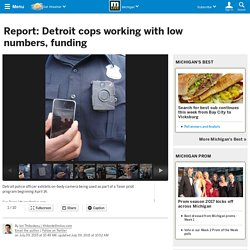 Report: Detroit cops working with low numbers, funding