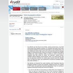 Cahiers de géographie du Québec v48 n135 2004, p.279-286
