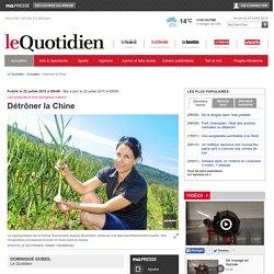 Détrôner la Chine