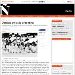 Deudas del aula argentina