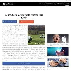 Le Deuterium, véritable tracteur du futur