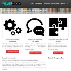 Deutsch lernen online - Grammatik, Wortschatz, Kurse