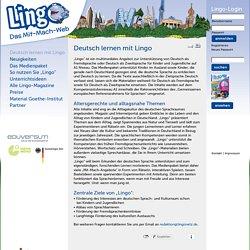 Deutsch lernen mit Lingo