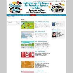 Deutsch-Wagen-Tour – Deutsch lernen in Polen - Spiele-Goethe-Institut