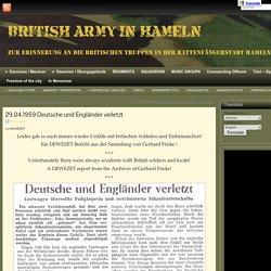 29.04.1959 Deutsche und Engländer verletzt » British Army in Hameln