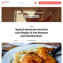 Was sind Typisch Deutsche Gerichte? Unsere TOP 10!