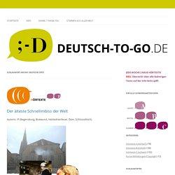 HV -Deutsche Orte